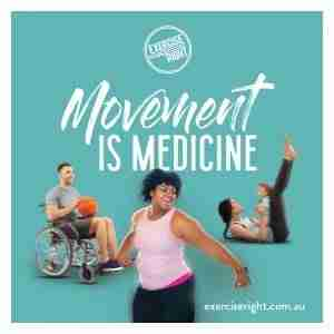 Movement is Medicine: Exercise Right Week 2020