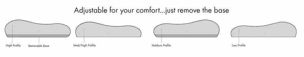Flexi Pillow Harmony Adjustable