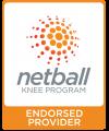 netball knee program logo